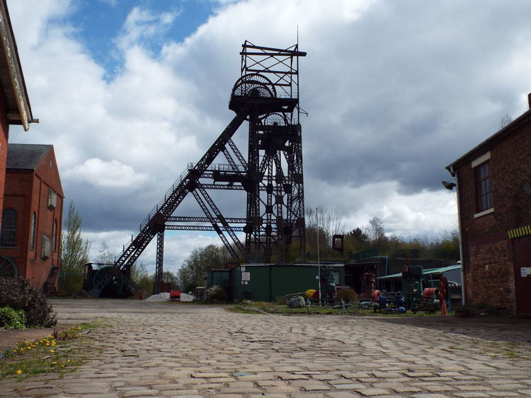 Lancashire's only remaining colliery which opened in 1908 and ran for 62 years. The site closed in 1970. The site is now open as a museum Colliery AstleyGreen Astley Green Headgear Steel Structure  Coalmine Industrial Landscape Industrial Heritage