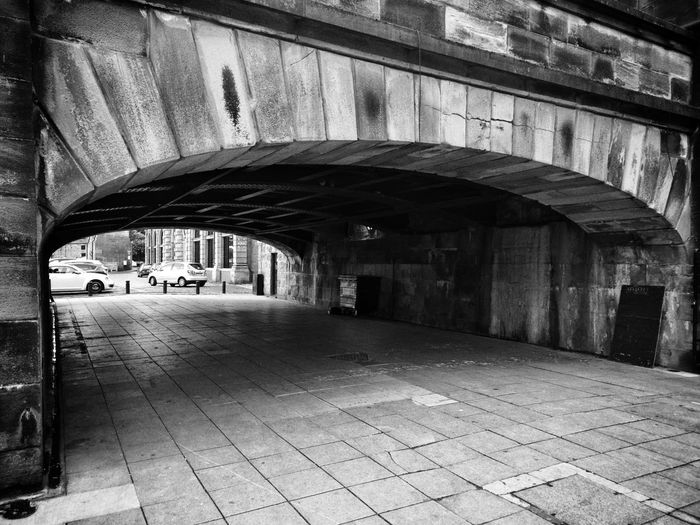 Arch under the bridge Swingbridge Newcastle Upon Tyne, Quayside EyeEm Gallery Eyeemphotography Eyeem Urban Photography EyeEm Best Shots Concrete Wall Urban Photography Old Old Buildings City Arch Architecture Built Structure Under Underneath Below Passage Tunnel vanishing point Archway Underpass Diminishing Perspective Light At The End Of The Tunnel Underground Walkway The Street Photographer - 2018 EyeEm Awards