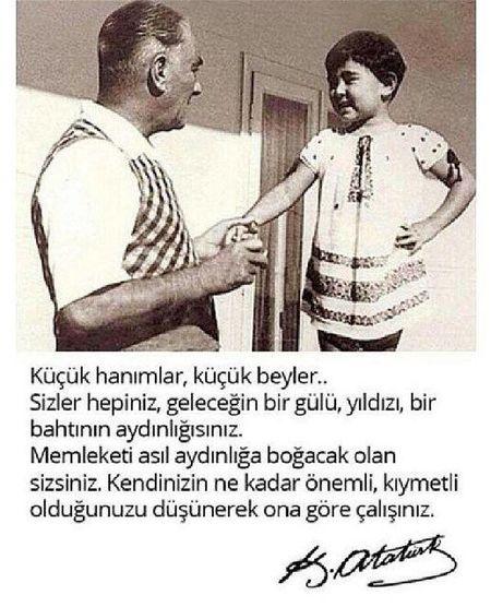 23NisanUlusalEgemenlikveCocukBayrami Mustafa Kemal Atatürk
