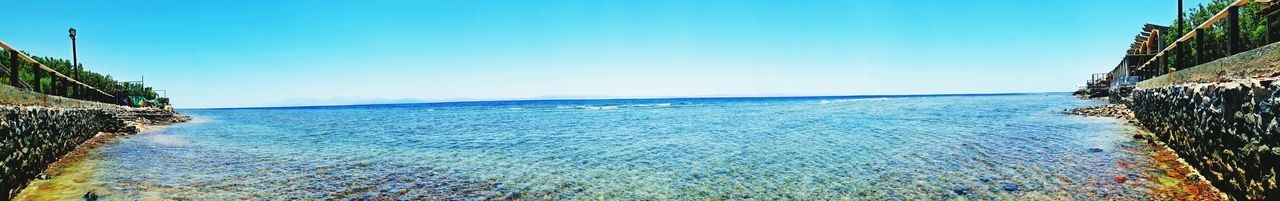 Taking Photos Relaxing Enjoying Life Egypt Great Time  Sea View Traveling Great Feeling View Travel Photography Taking Photos The Following Enjoying Life Hello World Dahab Dahab Red Sea Sky White Waves Blue Water Blue Blue Sky Sea Sea And Sky Panorama Panoramic Photo
