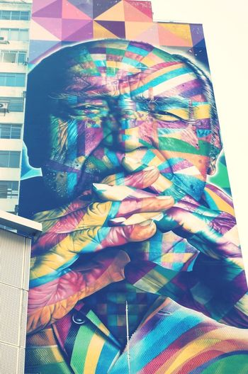 A colorful friday to all!! Av. Paulista Graffiti Taking Photos Cmkphotos Urban Architecture