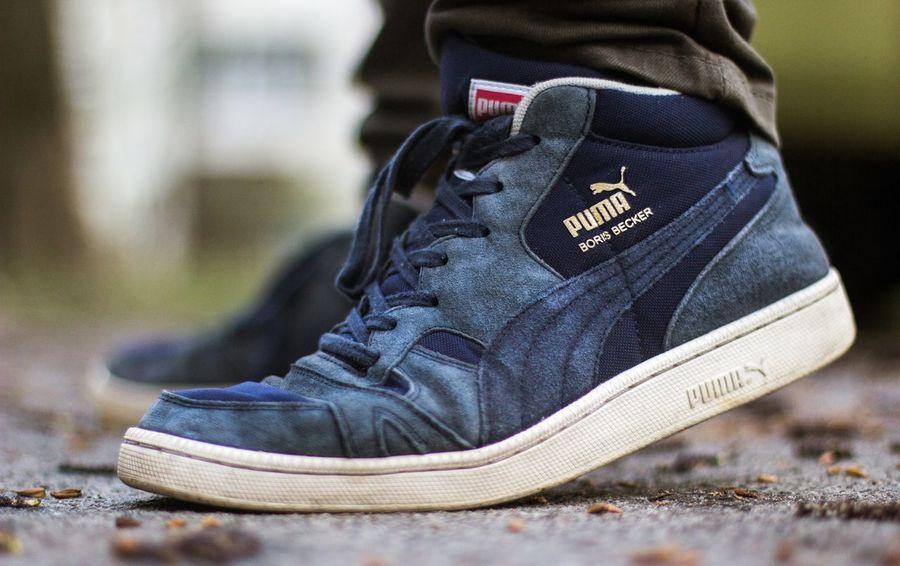Puma Sneakers Sneakersporn Shoe First Eyeem Photo