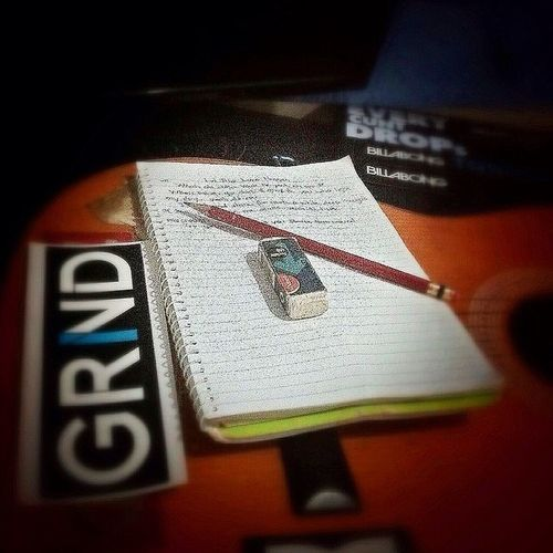 Drowsiness hasn't landed on me yet, wrote a song instead.. 08/30/2014 Charbaki Impromptu Kompomuragmaayo Steadynight Uplifted