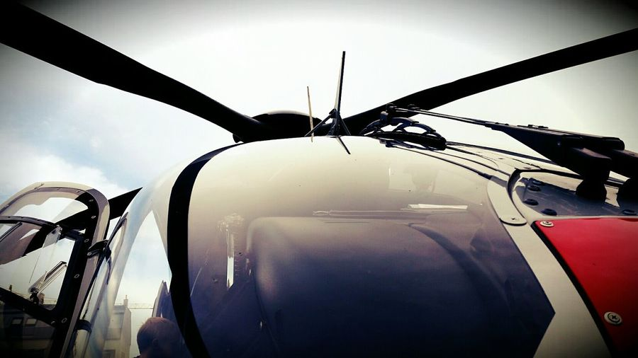 Helicopter Ec135 Police Soft Light Austria