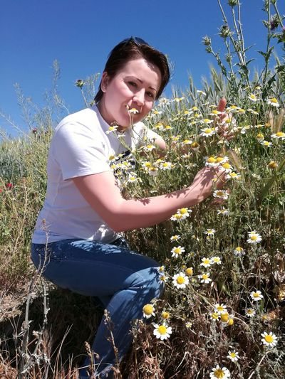 En El Campo One Person Smiling Nature Field Plant Young Adult Portrait