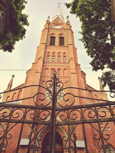 Church Gates Lithuania Religious Architecture First Eyeem Photo