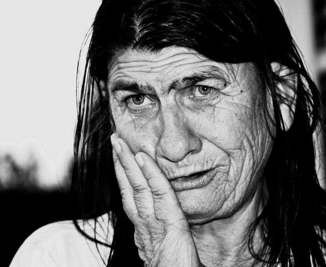 B&W Portrait Mercy  Compassion Reality
