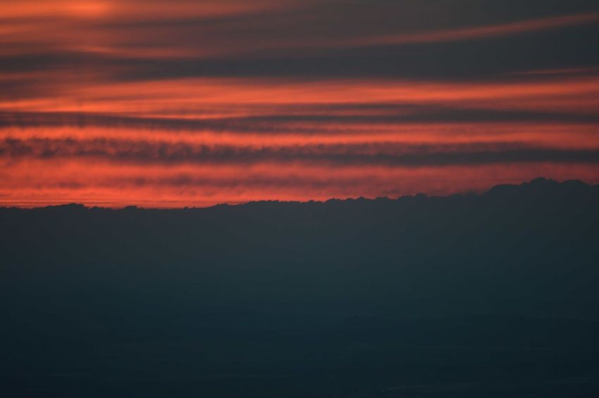 Peace Space Sunset Awe Silhouette Forest Mountain Dramatic Sky Majestic Wilderness Area Sky