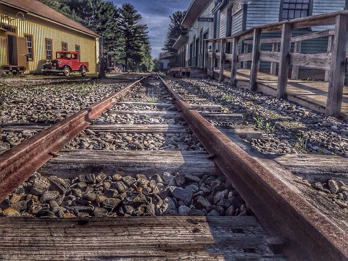 Railway Museum Railway Village Railroad Track Carol Sharkey Photography Maine