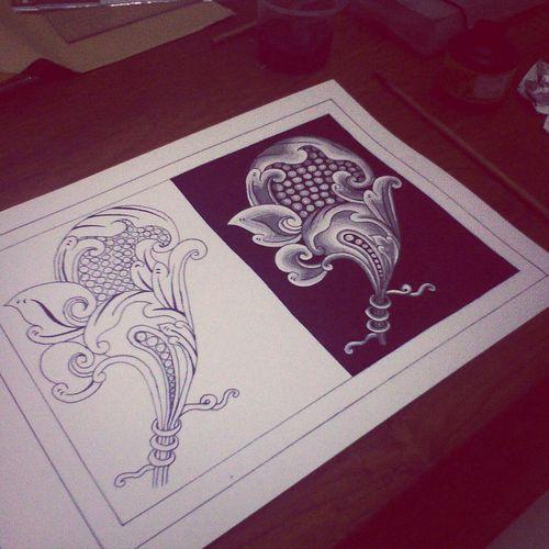 Patra punggel. Finally killed this assignment. Art Balinese