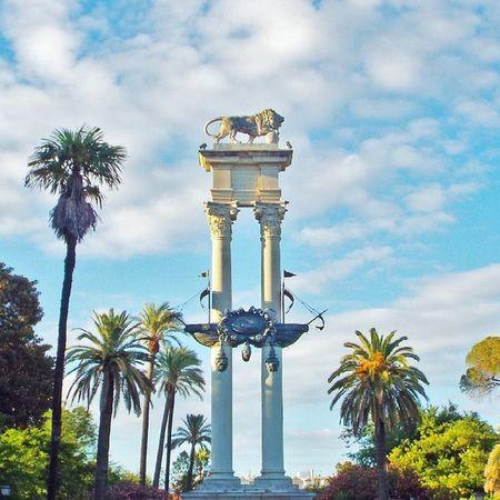 Monumento a Cristóbal Colón Sevillagram Sevillahoy Sevillagramers Sevilla