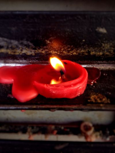 Melted Candle Light Fire Red Candle Olloclip_macro EyeEm Light Eyeem Philippines Faith Thoughts Prayer Burning Simple Photography Mobile Photography