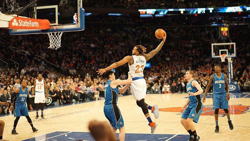 Madison Square Garden Knicks New York Magick Orlando NBA 2016