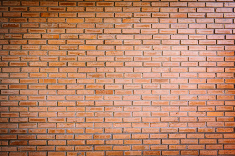 Brick Brick Wall Wall Full Frame Pattern Backgrounds Architecture Textured  Wall - Building Feature Built Structure No People Repetition Building Exterior Brown Close-up Day Outdoors Design In A Row Old Textured Effect