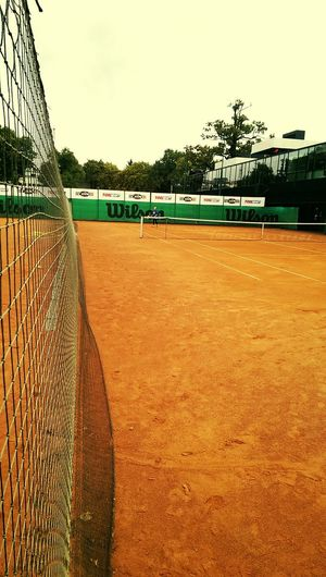 Tenis Tennis Game Kaunas Lithuania Training Final Wilson  Ace! Ground
