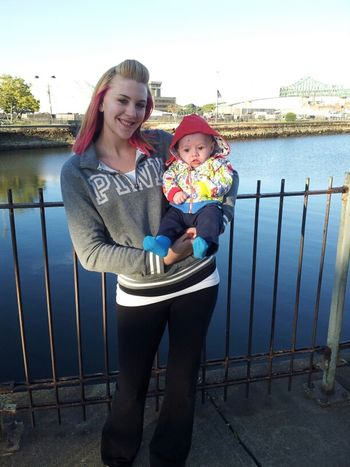 My Daughter In Law & Grandson