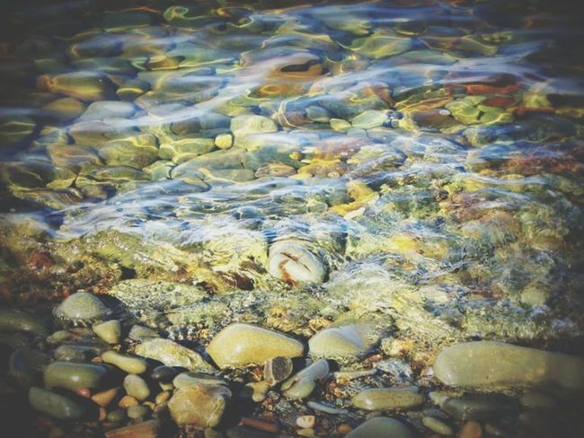 Pebbles Beach Pebbles And Water Water Nature No People Close-up Outdoors Beauty In Nature Day Shallow Pebble Lefka, Cyprus Lefka Cyprus