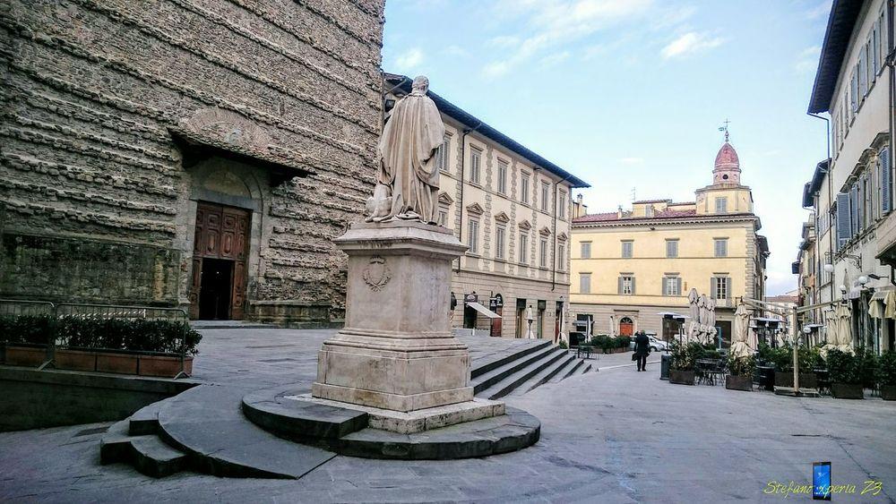 Z3 Xperia Old Town Urbanphotography Storic P.za San Francesco Arezzo Italy🇮🇹 Arezzox