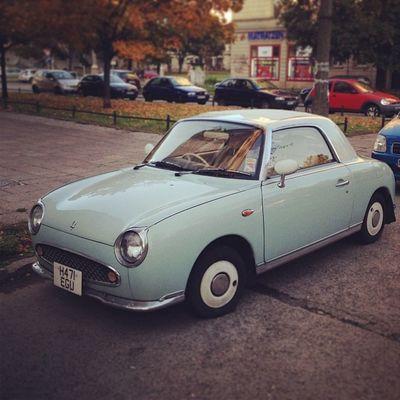Tut Tut! Berlin Karre Nissan Classiccar Figaro Igersberlin Vintagecar Altekarrenbattle Carsofberlin
