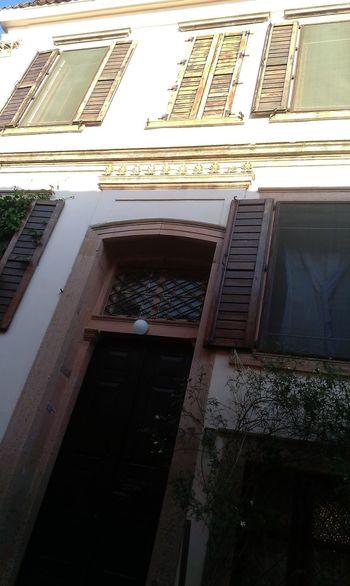 Turkey Balıkesir Cunda Island Ayvalik 🐚🐳🐬🏊 Relaxing Enjoying Life Hanging Out Old Buildings Old Historical Building Windows Yellow White Color Sweet♡