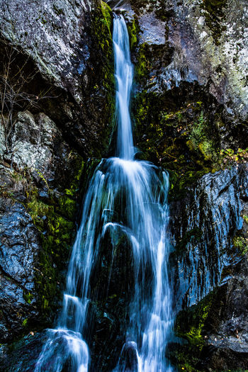 Bash Bish Falls Beauty In Nature Blurred Motion Day Forest Freshness Long Exposure Motion Nature No People Outdoors Power In Nature Rapid Rock - Object Scenics Sky Tranquil Scene Tranquility Travel Destinations Water Waterfall