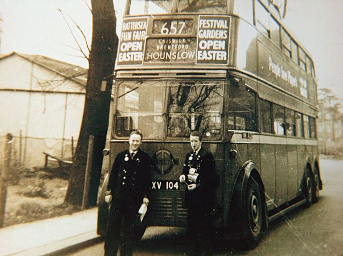 trolleybus London this old photo is of the very last trolley bus before being taken Out Of Service in London. My father is standing on the left😀 Happy People Bus Motor Vehicle History End Of An Era London lifestyle Old Photo Blackandwhite Trolleybus London Old Photo Out Of Service Father Close-up