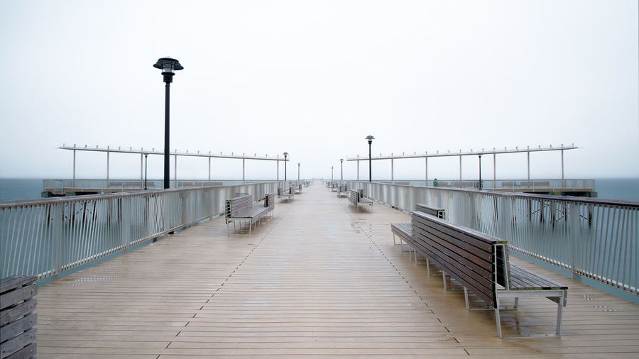 the pier of