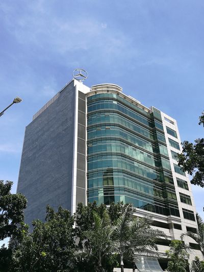 MERCEDES-BENZ CORPORATE TOWER City Urbanphotography Built Structure Building Exterior