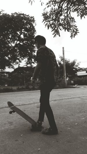 That's Me Relaxing Mylife Skateboard Enjoying Life SK8.