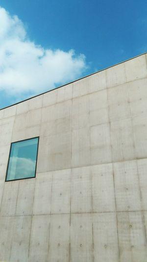 Hepworth Gallery Wakefield Architecture Edges Buildings & Sky Window Window Reflections Concretedesign Minimalism Urban Geometry