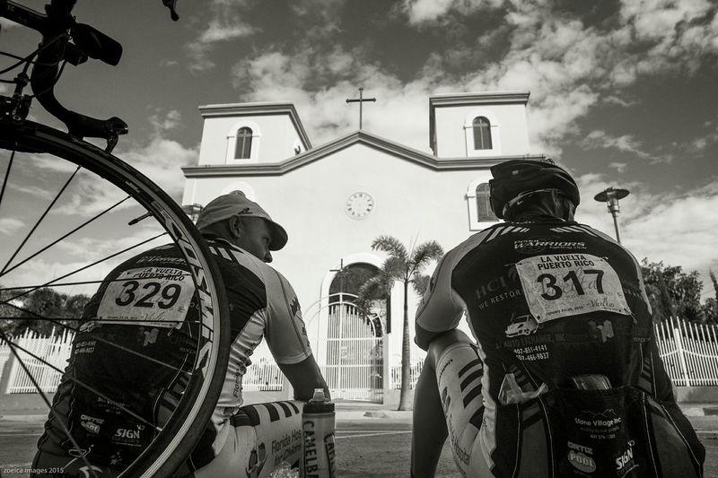 Cycling Relaxing Puerto Rico Cyclist Santa Isabel