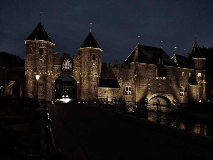 Architecture Illuminated City No People Cityscape Structure History Outdoors Taking Photos ❤ City Wall