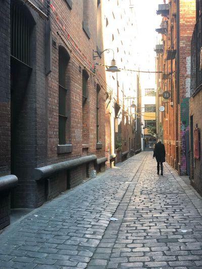 Melbourne lane Building Exterior City Architecture Street Built Structure The Way Forward Walking