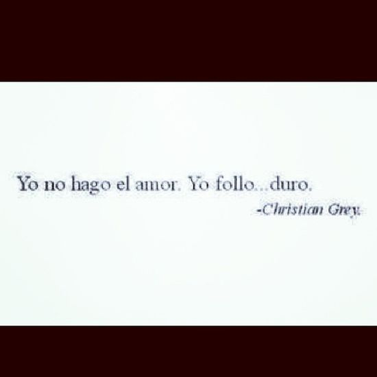 Follo  Duro Christan Grey <3 *-*