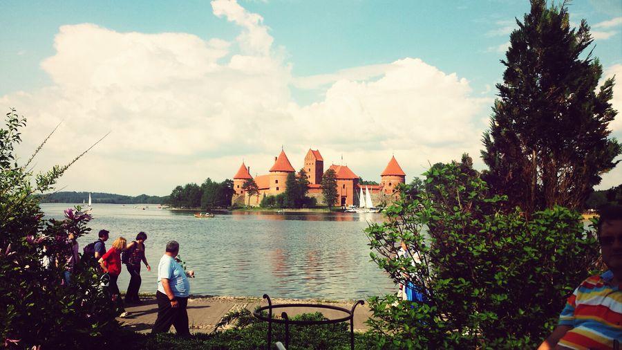Castle Historical Building Trakai