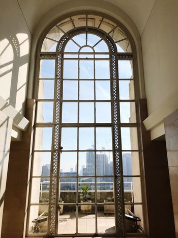Window Architecture Window Built Structure Arch Day Indoors  Sky Building Low Angle View Sunlight Window Frame City