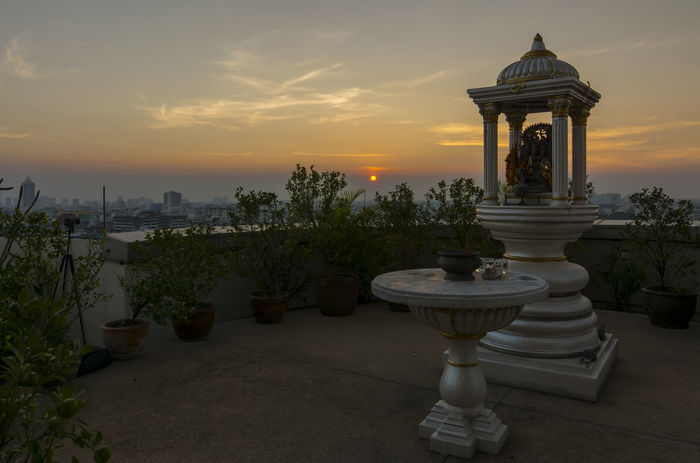 Sunset by the Alter of The Gods, so peaceful and beautiful Alter Bangkok Citiscape  City View  Cloud - Sky Landscape_photography Landscape_Collection Landscapes With WhiteWall Place Of Worship Religion Sky Spiritual Reflections Spirituality Spirituality Sunrise Sunrise_sunsets_aroundworld Sunset Tranquil Scene Tranquility Worship