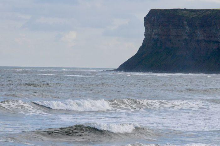 Cat Nab Cliffs ( Huntcliffe) Saltburn in October Saltburn By The Sea