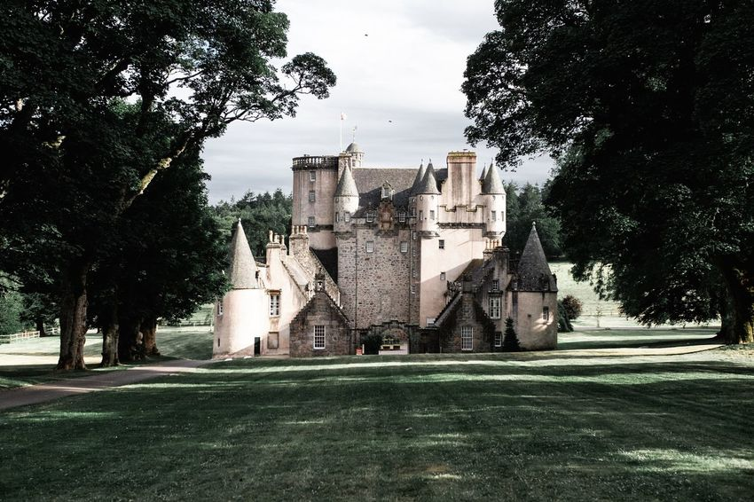 Castle Fraser Aberdeenshire Scotland National Trust Scotland National Trust Scottish Castle Castle Trail Visit Scotland Scottish Scenery Scottish Tourism Nts Kemnay Castle Fraser Tree History Sky Architecture Building Exterior Grass Built Structure Cloud - Sky The Past Historic Building Residential Structure Exterior