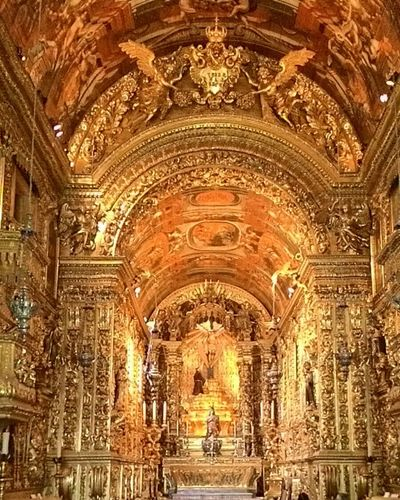 Just amazing! Church Barroco Brazil Riodejaneiro Baroque Amazing Place Love It Gold SaintFrancis Travel Photography 43GoldenMoments