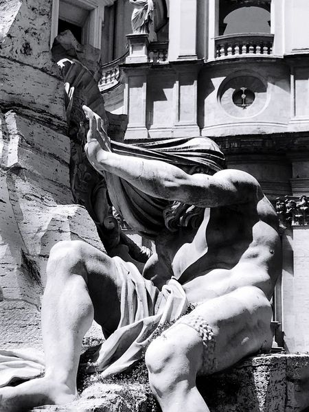 Ombre Great Beauty Rome Bernini Statue Sculpture Art And Craft Architecture Representation Human Representation Building Exterior Built Structure