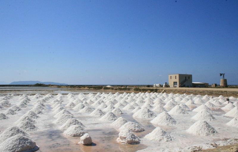 Blue Blue Sky Landscape Sicily Color Marsala Marsalacolor Salina Sicily Sicily Landscape White
