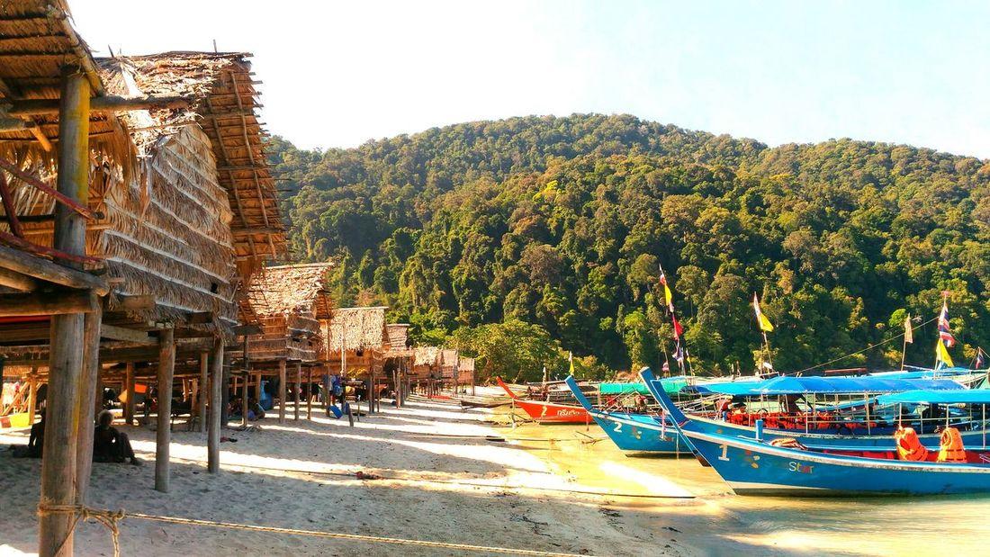 Fisherman village @ Surin island