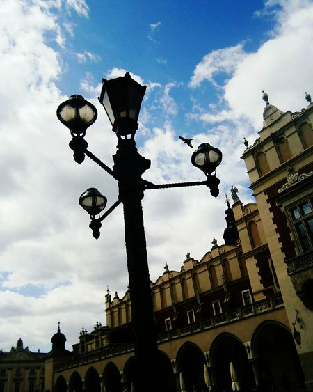 Architecture Arch History Cloud - Sky Travel Destinations Low Angle View Sky Built Structure City Day No People Politics And Government Building Exterior Outdoors Clock Clock Face Krakow,Poland Kraków♥ Krakowpoland