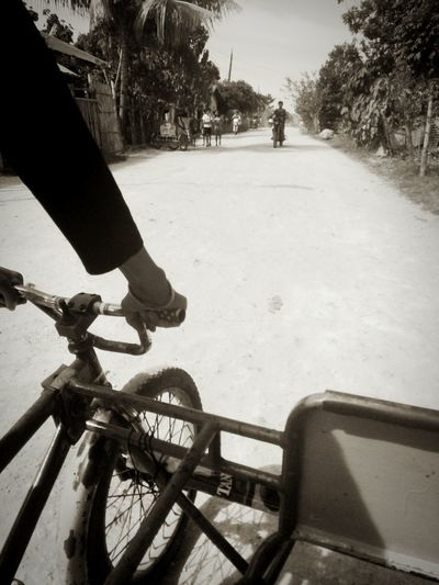 My Commute Padyak Trisikad Transportation Transport On The Way Street Photography Monochrome Photography CyclingUnites The Street Photographer - 2017 EyeEm Awards The Street Photographer - 2017 EyeEm Awards