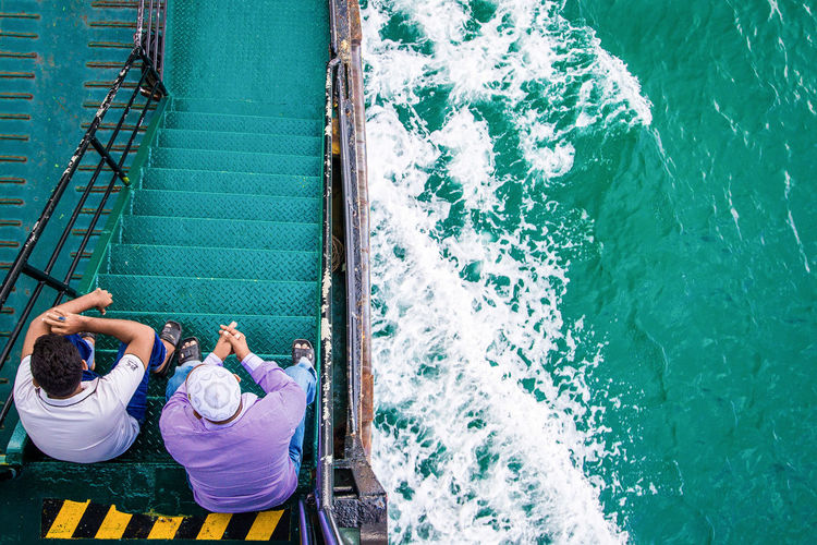 Long Journey Ferry Boat Langkawi Island My Commute My Commute-2016 EyeEm Photography Awards The Following Travelling People Of The Oceans Feel The Journey On The Way Connected By Travel Connected By Travel