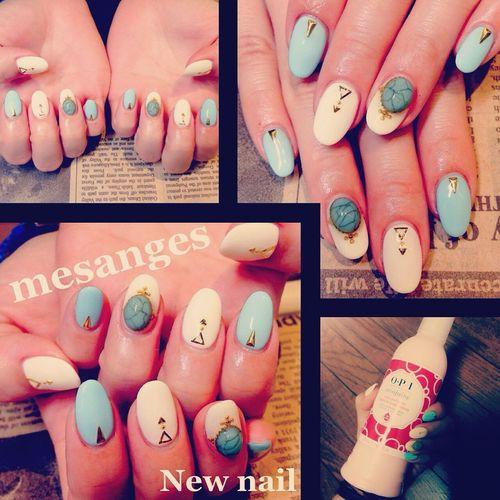 Nail Mesanges Hand Newnail💅