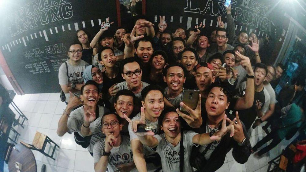 lampung vape meet 2016 Vapecommunity Vape Vapor Vaporizer  Hangout Lampung Hang Out Meet Meetup Hello World