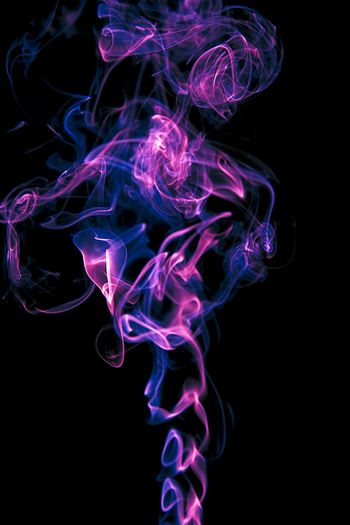 Smoke Neon EyeEm Smoke Tricks Pink Color Purple Pink Blue Texture Textures Textured  Isolated Black Background Colored Smoke