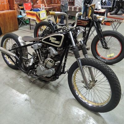 Yokohama hotrod custom show 2013 Hcs2013 Harley Davidson Knucklehead Chopper bobber